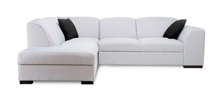 Rohová sedací souprava Rohová sedačka rozkládací West levý roh (orinoco 21/soft 17)
