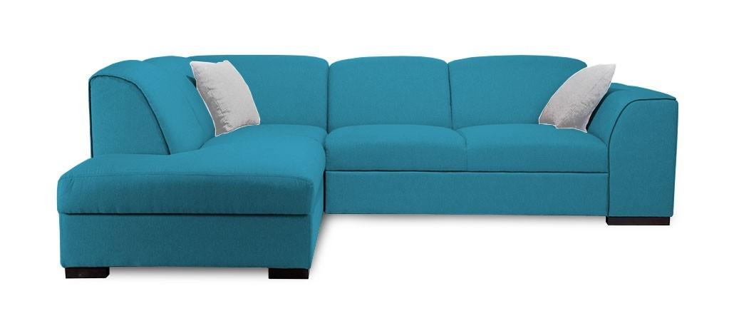 Rohová sedací souprava Rohová sedačka rozkládací West levý roh (orinoco 85/soft 11)