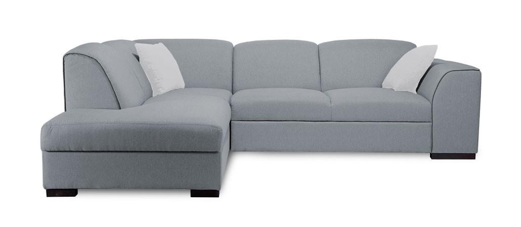 Rohová sedací souprava Rohová sedačka rozkládací West levý roh (orinoco 96/soft 66)