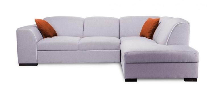Rohová sedací souprava Rohová sedačka rozkládací West pravý roh (baku 1/soft 17)
