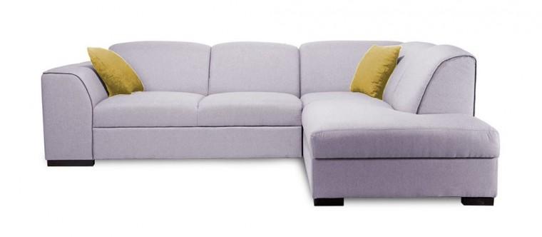 Rohová sedací souprava Rohová sedačka rozkládací West pravý roh (baku 1/soft 66)
