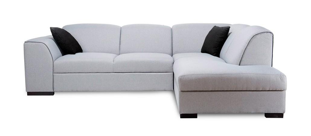 Rohová sedací souprava Rohová sedačka rozkládací West pravý roh (baku 4/soft 11)