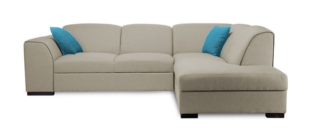 Rohová sedací souprava Rohová sedačka rozkládací West pravý roh (orinoco 24/soft 66)
