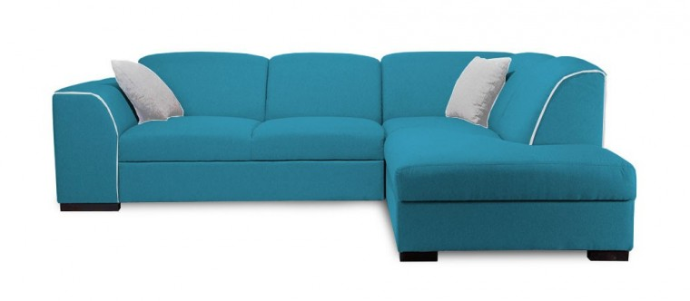 Rohová sedací souprava Rohová sedačka rozkládací West pravý roh (orinoco 85/soft 17)