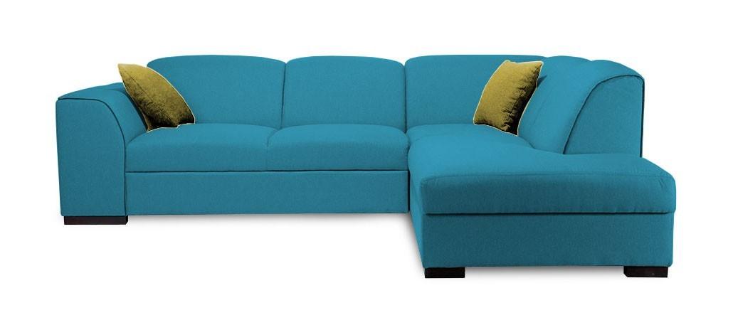 Rohová sedací souprava Rohová sedačka rozkládací West pravý roh (orinoco 85/soft 66)