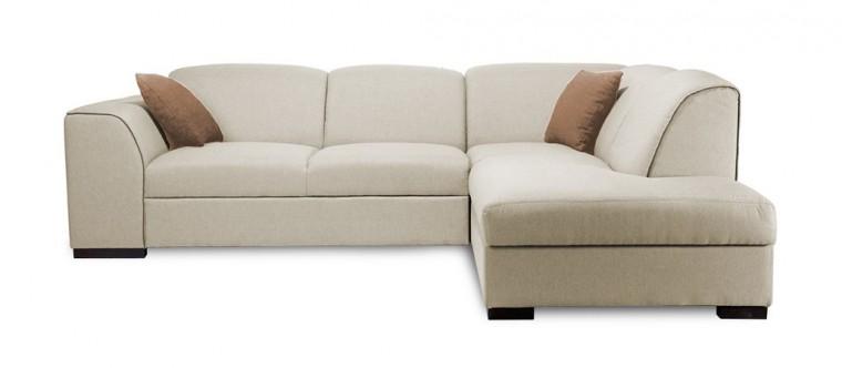 Rohová sedací souprava Rohová sedačka rozkládací West pravý roh (orinoco23/cayenne1122)