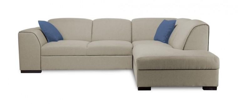 Rohová sedací souprava Rohová sedačka rozkládací West pravý roh (orinoco24/cayenne1122)