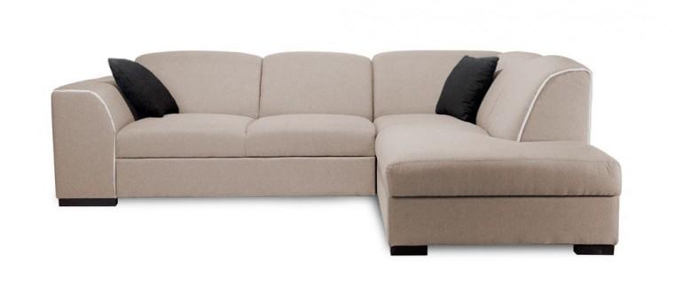 Rohová sedací souprava Rohová sedačka rozkládací West pravý roh (soro 23/soft 17)