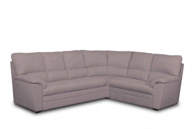 Rohová sedací souprava Rohová sedačka rozkládací York pravý roh (kůže)