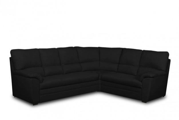 Rohová sedací souprava Rohová sedačka rozkládací York pravý roh (látka)