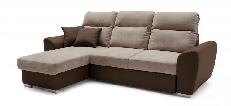 Rohová sedací souprava Rohová sedačka Stilo levý roh (soft 66 /orinoco 24)