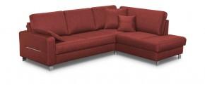 Rohová sedačka rozkládací Costa pravý roh (hamilton 2816,červená)