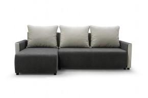 Rohová sedačka rozkládací Finezja univerzální roh ÚP šedá, bílá