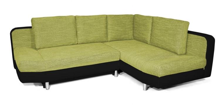 Rohová sedačka rozkládací Look pravý roh (korpus - soft 11)