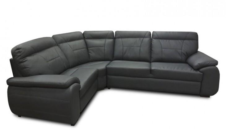 Rohová sedačka rozkládací Maxi sleep levý roh (eko kůže)