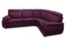 Rohová sedačka rozkládací Maxi sleep pravý roh (látka)