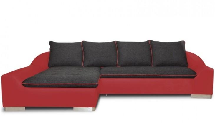 Rohová sedačka rozkládací Saphir levý roh (lawa 07/soft 10)