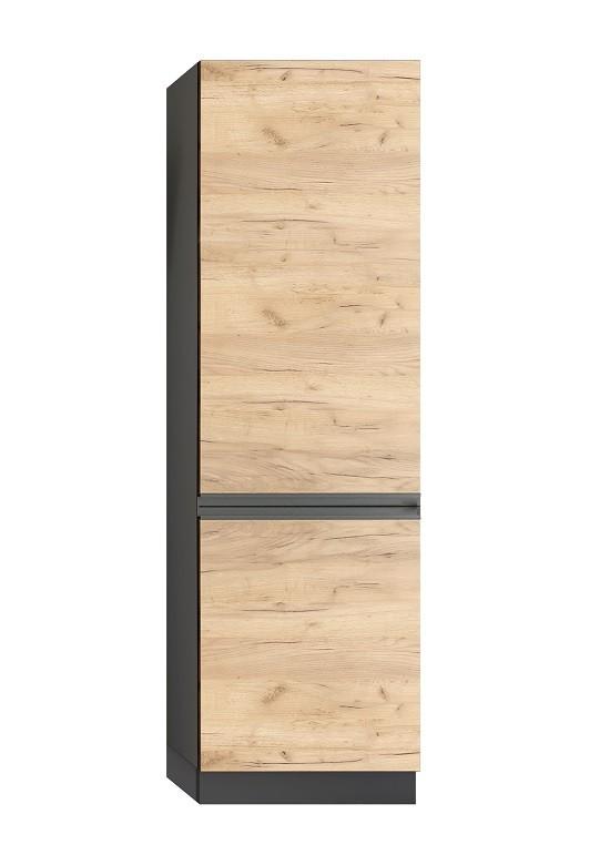 Rohové kuchyně Potravinová skříň ke kuchyni Brick
