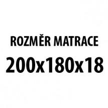 RollSpring H3 - Matrace (200x180x20)