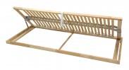 Rošt Double klasik - 90x200 cm, výklopný do boku