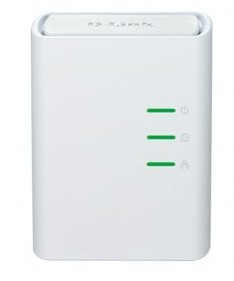 Router D-Link DHP-308AV Powerline RJ45 port ROZBALENO