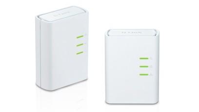 Router D-Link DHP-309AV Powerline Homeplug kit 2ks RJ45 port ROZBALENO