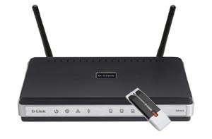 Router D-Link Wi-Fi N Home Router Kit DKT-400