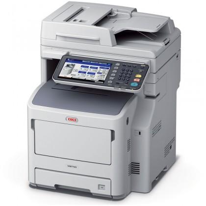 Router Oki MB760dnfax A4, 47 ppm MTF/Fax, 160GB HDD, 2GB,USB, LAN