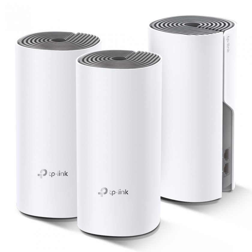 Router WiFi mesh TP-Link Deco E4, 3-pack