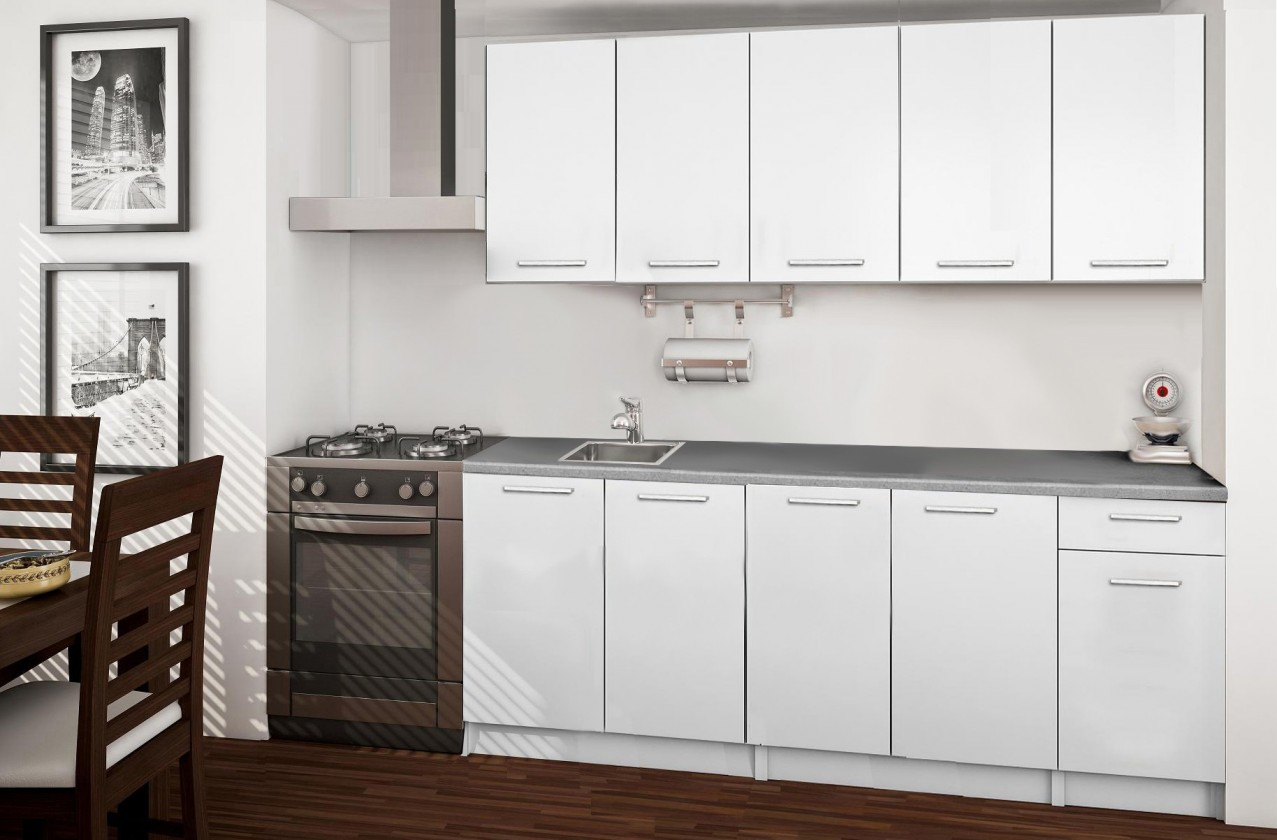 Rovná Basic - kuchyňský blok A 200 cm