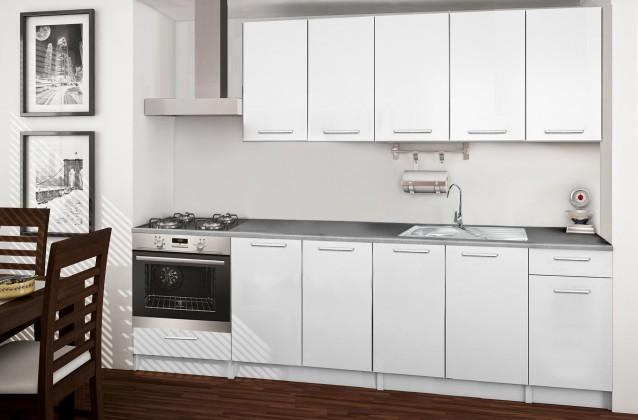 Rovná Basic - kuchyňský blok A 260 cm