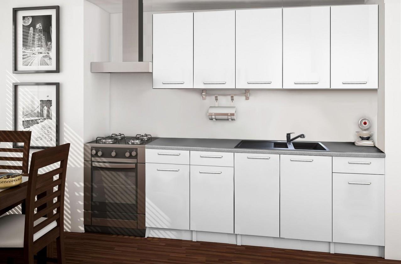 Rovná Basic - kuchyňský blok B 200 cm