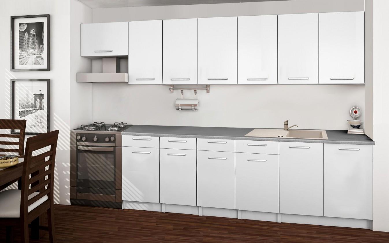 Rovná Basic - kuchyňský blok B 300 cm
