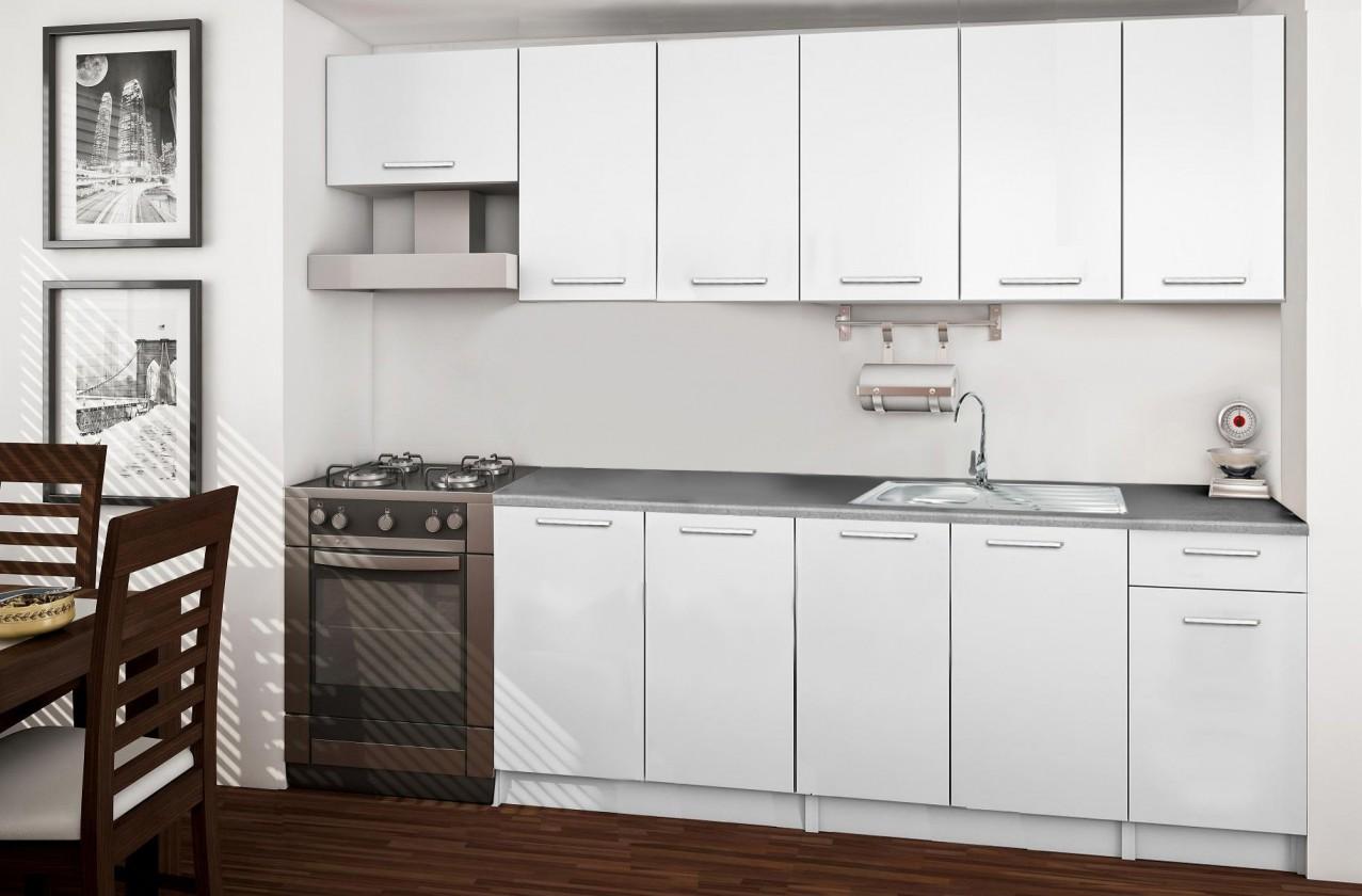 Rovná Basic - kuchyňský blok C 260 cm