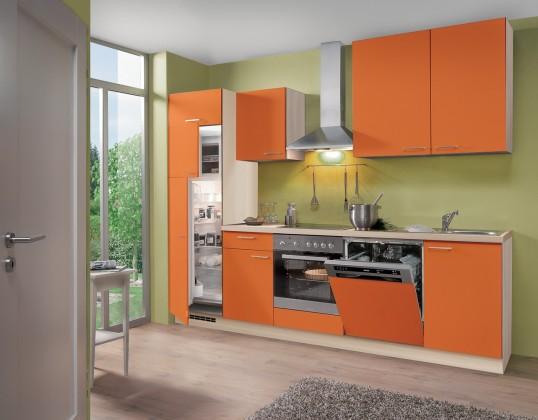 Rovná Blues - Kuchyňský blok, 2,8 m (oranžová)