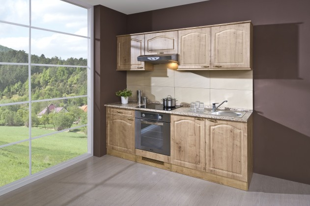 Rovná Julia - Kuchyňský blok 210 D (dub arlington/PD traini beige)