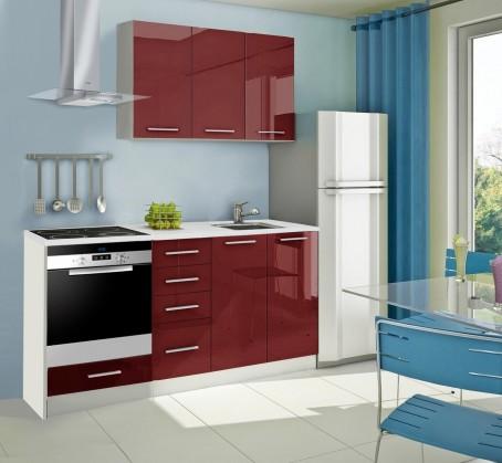 Rovná Mondeo - kuchyňský blok C 120/180 cm (pracovní deska - mramor)