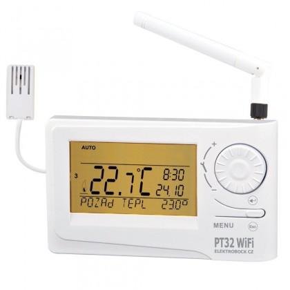 Rozšiřující moduly Termostat Elektrobock PT32 WiFi