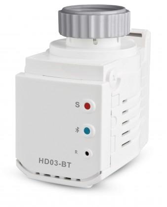 Rozšiřující moduly Termostatická hlavice s Bluetooth Elektrobock HD03-BT