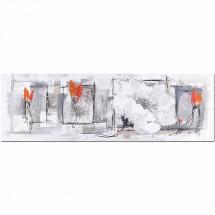 Ručně malovaný obraz Life (50x150 cm)