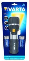 Ruční svítilna Varta, LED, černá/stříbrná