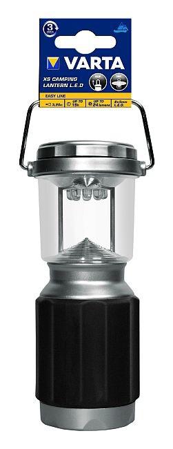 Ruční svítilny Kempingová svítilna Varta XS, 3xD