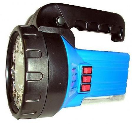 Ruční svítilny Nabíjecí svítilna halogen, 9x LED, úsp. zářivka,230V/12Vauto