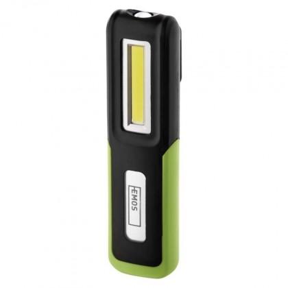 Ruční svítilny Pracovní svítilna Emos P4530, nabíjecí, LED, 1200mAh