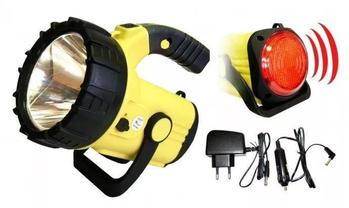 Ruční svítilny Refelktor Peacock S2111A, 3W, LED, CREE+COB, 220lm