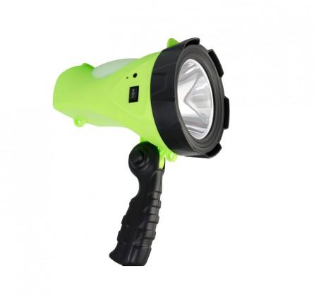Ruční svítilny Ruční svítilna Peacock S2185, 5W LED + 1W, LED