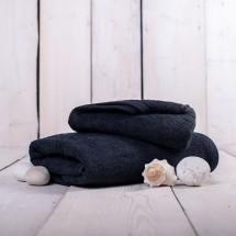 Ručník a osuška OR02 (černá, 50x100 cm, 70x140 cm)