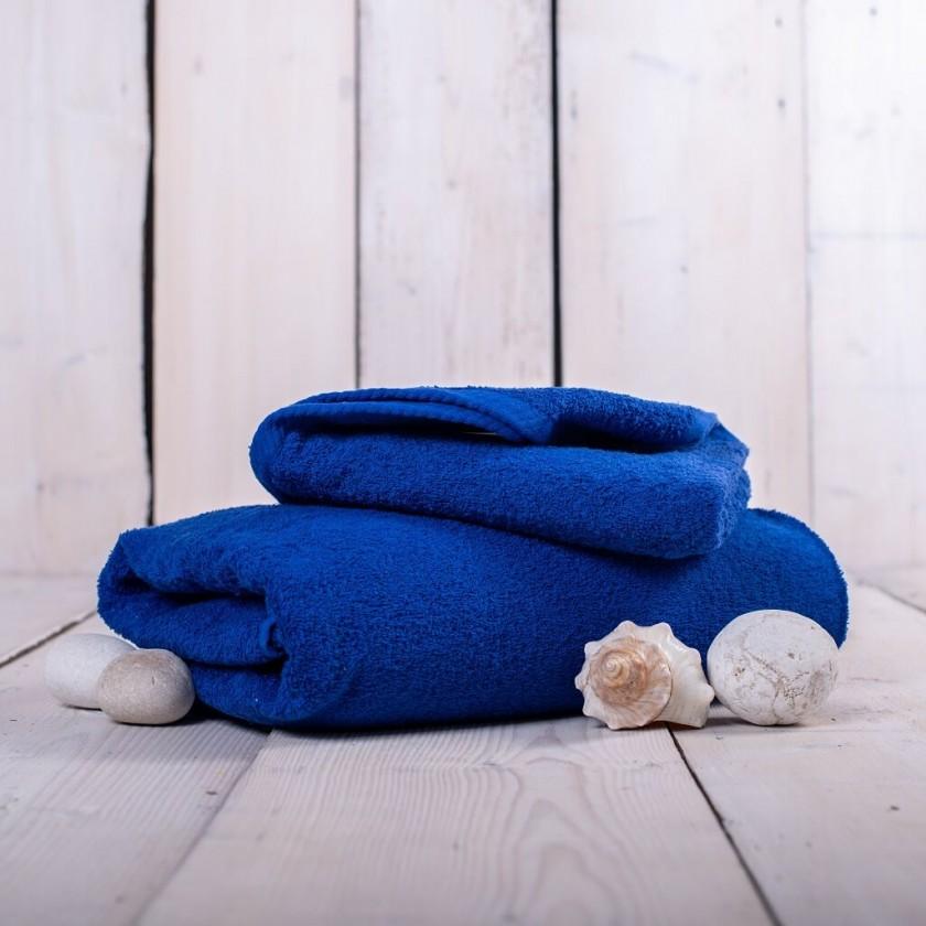 Ručníky a osušky Ručník a osuška OR04 (tmavě modrá, 50x100 cm, 70x140 cm)