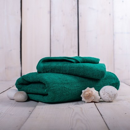 Ručníky a osušky Ručník a osuška OR05 (tmavě zelená, 50x100 cm, 70x140 cm)