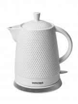Rychlovarná konvice Concept RK0040, keramika, 1,5l